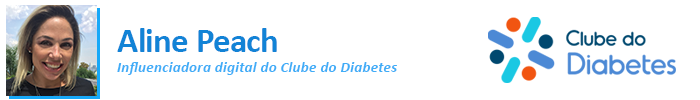 Aline Peach / Clube do Diabetes